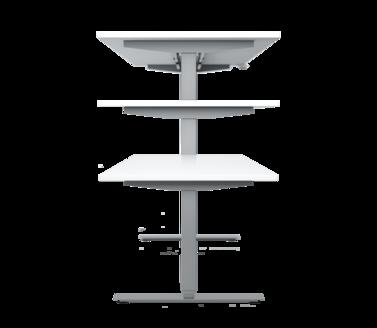 Elektro-Hubtisch Büro - Büromöbel von Geramöbel