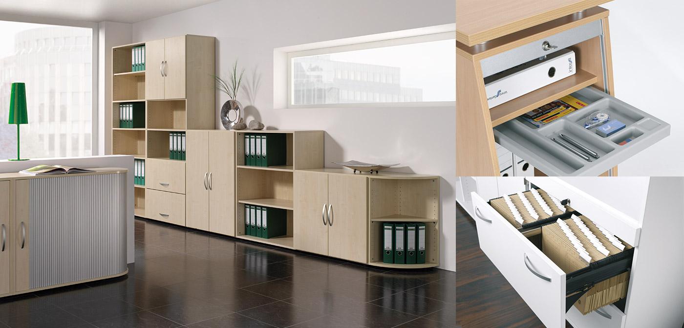 Büromöbel & Büroeinrichtung - Geramöbel, innovative Möbel fürs Büro